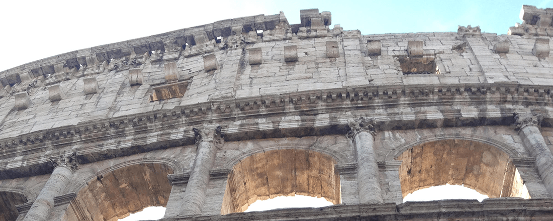 The Colosseum in Rome (Source: Katie Rosengarten)