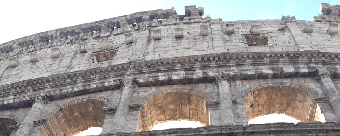 The Colosseum in Rome (Source: Katie Rosengarten)