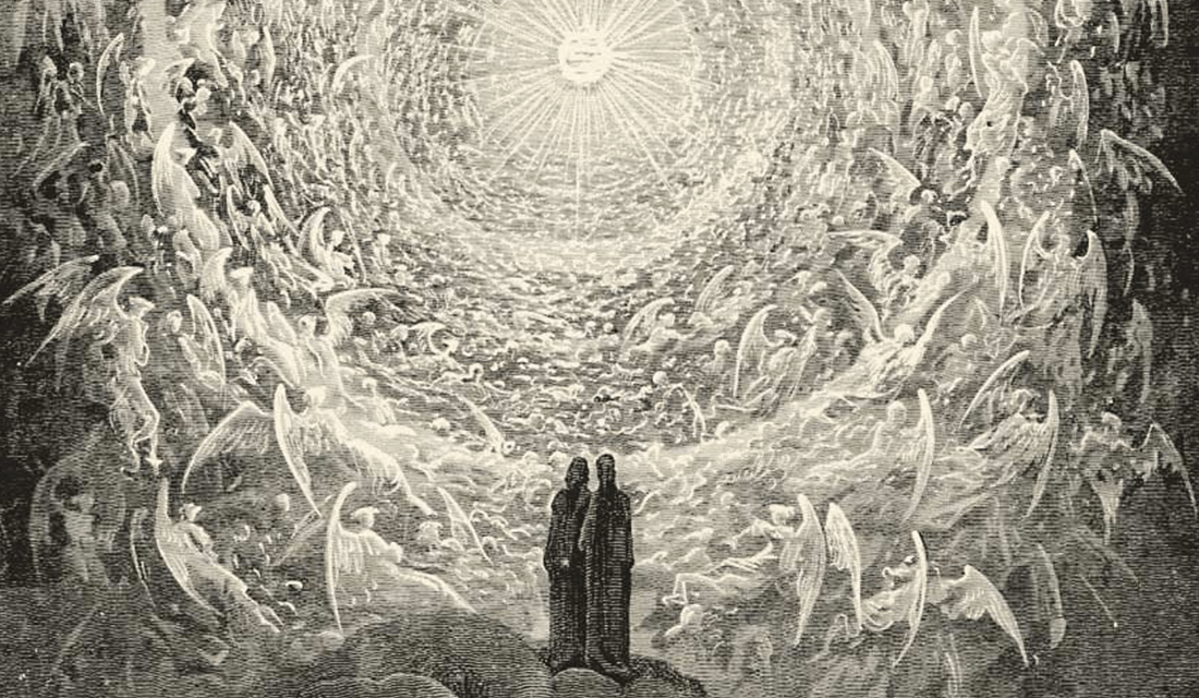 "Gustave Dore's ""The Empyrean Heaven,"" from Canto XXXI in ""Paradiso"" by Dante (Source: Wikimedia Commons)"