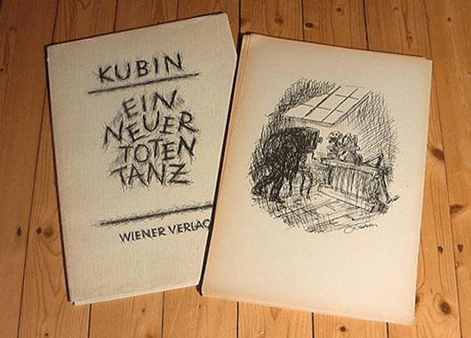 """Alfred Kubin's """"Ein neue Totentanz"""" (Source: ZVAB)"""