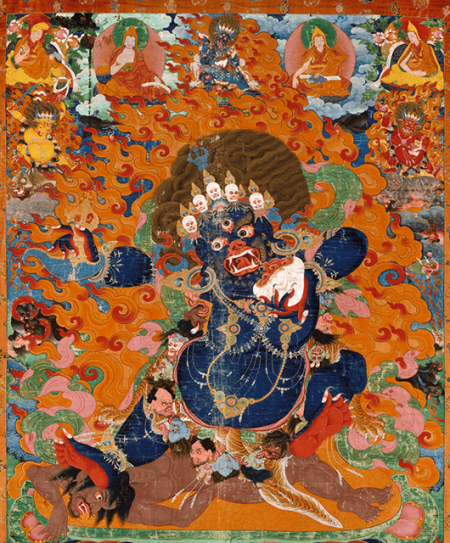 """Yamantaka, Destroyer of the God of Death,"" early 18th-century (Source: The Metropolitan Museum of Art)"