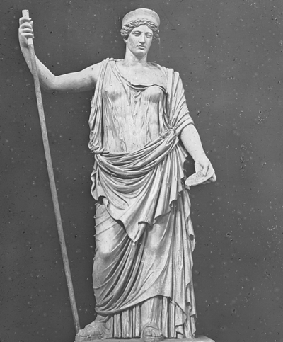 Sculpture of Juno by William Henry Goodyear (Source: Brooklyn Museum/Wikimedia Commons)