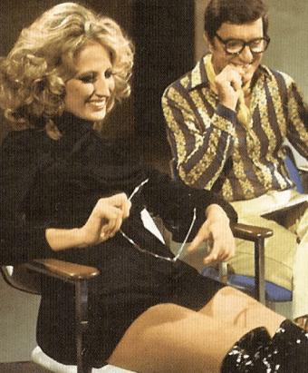 Mina Mazzini with Lelio Luttazzi (Source: Wikipedia)