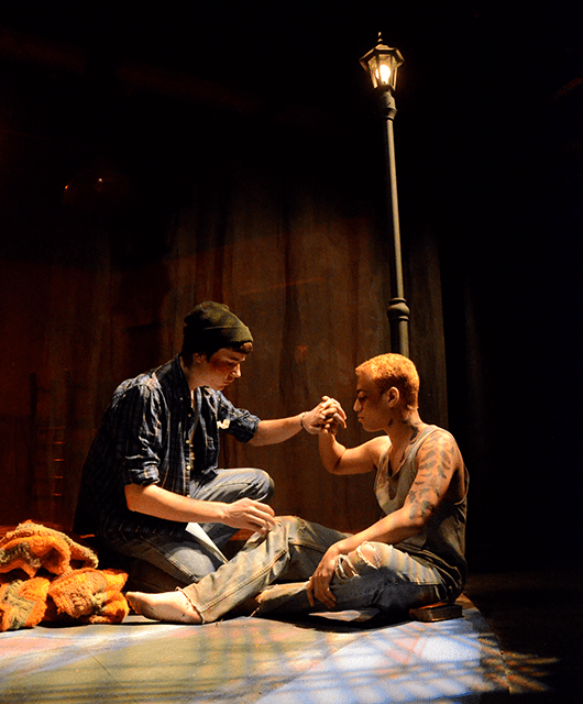 "Nicholas Phalen and Jack Schmitt in ""Polk Street"" 