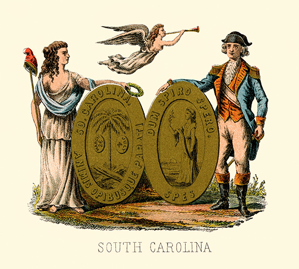 South Carolina Coat of Arms