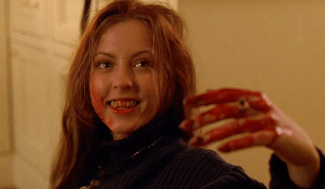 "Ginger Fitzgerald in ""Ginger Snaps"" (Source: Descent Into Madness/Blogspot)"