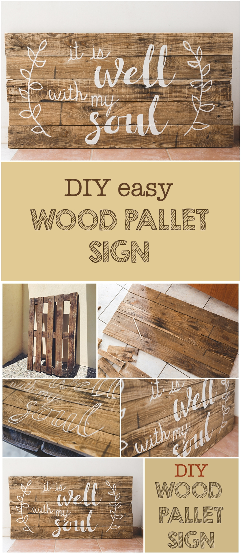 wood craft signs ideas diy wood pallet sign and free printable six clever 5757