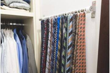 IKEA hack tie organizer