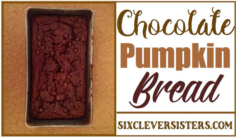 #chocolate #pumpkin #bread
