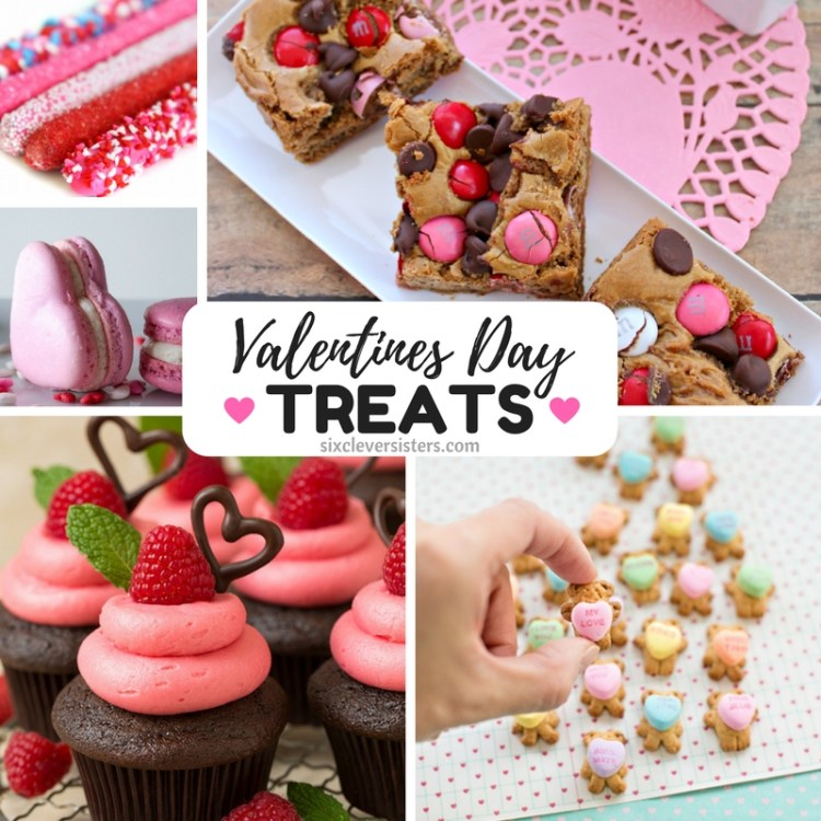 valentine's day treat recipes roundup - six clever sisters, Ideas