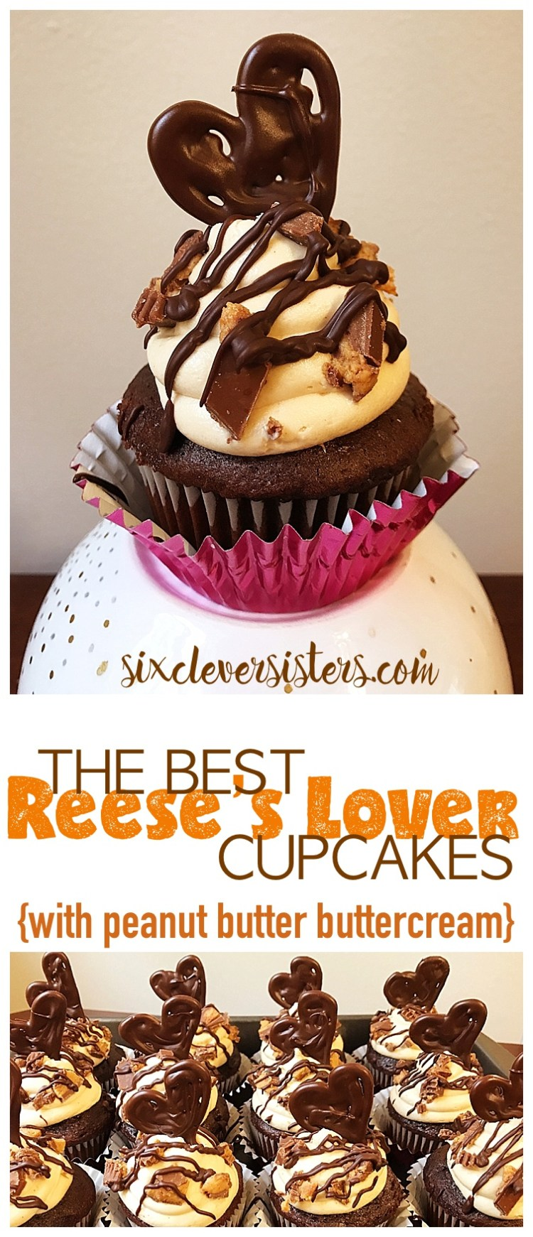 The Best Reese's Lover Cupcakes