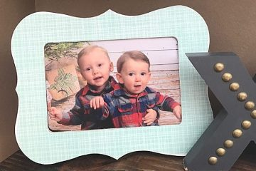 $2 DIY Custom Frame | Mod Podge DIY frame | simple home decor