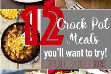 Crock Pot Recipe Roundup | slow cooker | recipes on Six Clever Sisters