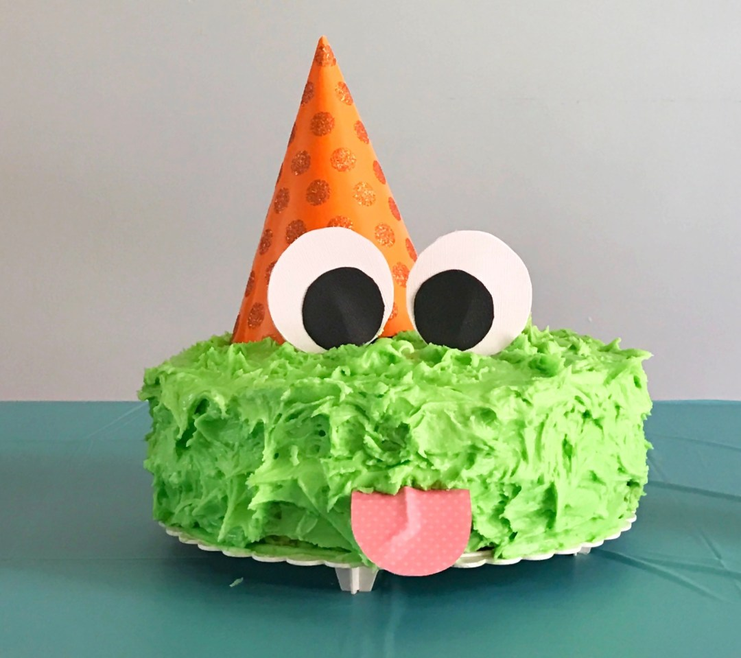 Cute Little Monster FIRST BIRTHDAY {with free templates!} | first birthday party | monster party | cake ideas | One year old | decorations | Check it out at Six Clever Sisters blog!