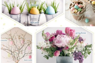Easter Table Decorations | Easter Table | Easy Easter Centerpieces | Easter Eggs | Spring Decor | Beautiful Easter Table Decorations | Easter Flowers | Centerpiece for Easter