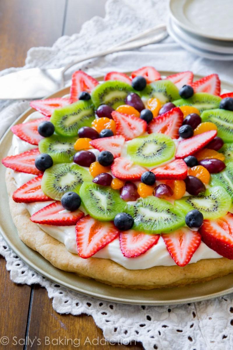 Spring Desserts | Gorgeous Dessert | Beautiful Cake Recipe | Summer Dessert Recipes | Yummy Desserts | Fruit Desserts | Chocolate Desserts | Fancy Elegant Desserts | Impressive Dessert Recipe | Eye Catching | Six Clever Sisters | Mothers Day Ideas | Mothers Day Recipe | Fruit Pizza