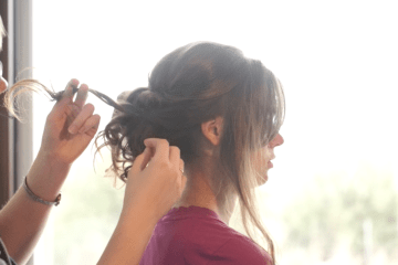 Hair Tutorial | Bridal Hair | Curly Updo | Curly Low Bun | Updo Tutorial | How to Updo | This video will show you how to style a beautiful curly low bun perfect for a wedding or any formal occasion!