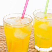 Iced Lemon Ginger Turmeric Tea