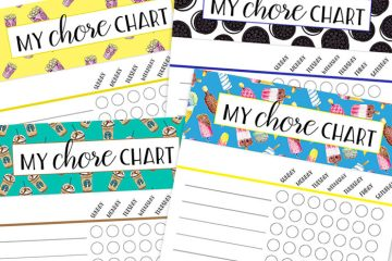 Summer Chores for Kids | Summer Chore Chart | Summer Activities for Kids | Summer Chore List | Summer Chore Chart FREE PRINTABLE | 6 Free Printable Fun Summer Chore Charts & SECRETS for enforcing them are on the Six Clever Sisters blog!