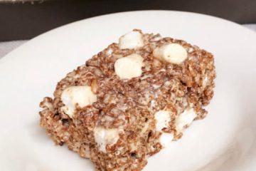 Cocoa Krispie Treats | rice krispie | Marshmallows | Kid Food | Rice Krispy Treats | Rice Krispie Recipes | Summer Dessert | Summer Party | Kid Desserts Easy | Kid Snack Ideas | Party Food | Picnic Food | Summer Fun