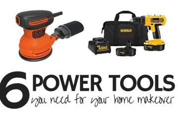 Home Makeover   DIY Home   Power Tool   How-to Renovate   Home Renovation   Here is a list of 6 power tools you absolutely need to renovate your home! SixCleverSisters.com