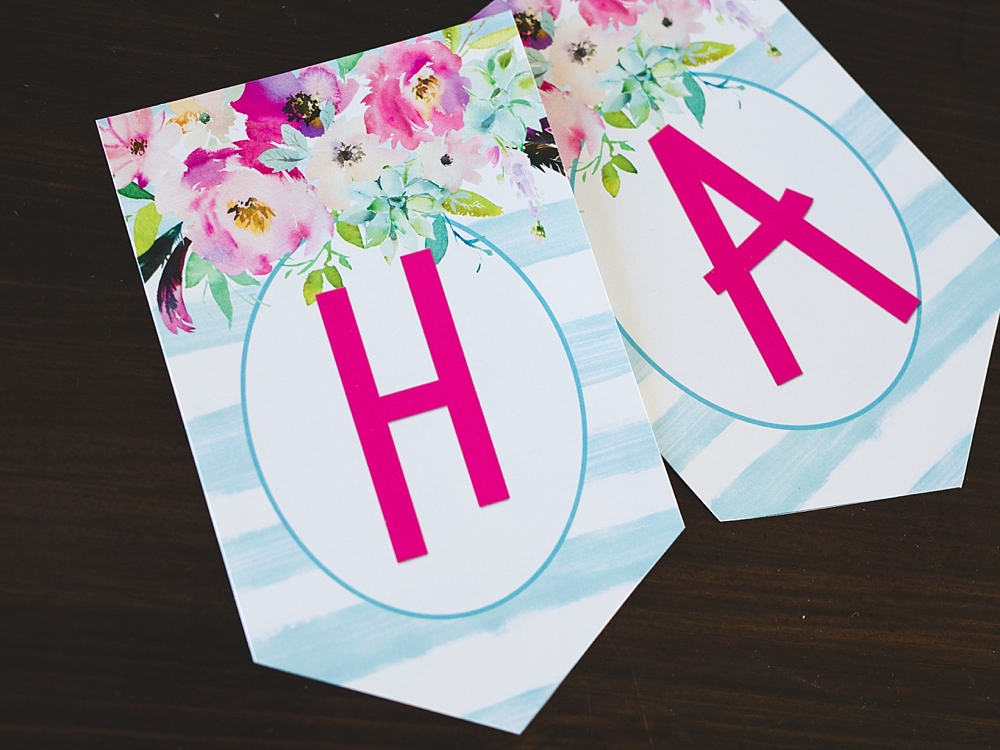 Free Printable Birthday Banner - Six Clever Sisters
