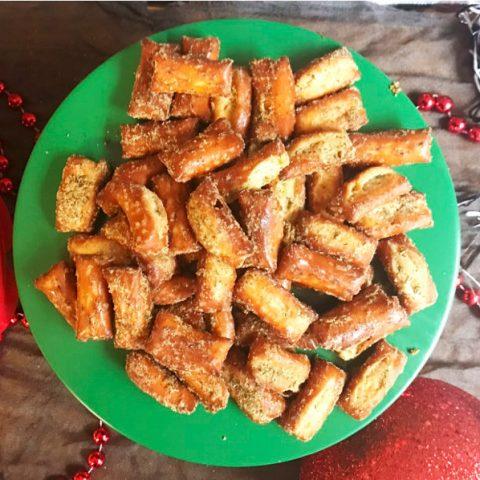 Garlic Ranch Pretzel Nuggets