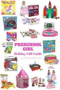 Preschool Girls Holiday Gift Guide | Gift Guide | Little Girls Gifts