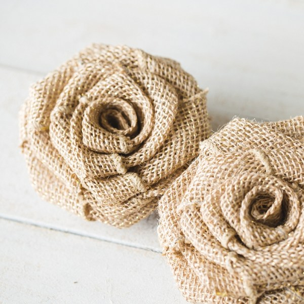 DIY Burlap Roses | Easy DIY Burlap Roses | Burlap Roses DIY | Burlap Roses Tutorial | Burlap Roses How to Make | Burlap Roses DIY Simple | DIY Burlap Rose Bouquet | DIY Burlap Rose Wreath