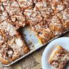 Pumpkin Streusel Bars | Pumpkin Bars | Pumpkin Dessert | Fall Dessert | Coffeecake | Pumpkin Coffeecake | Pumpkin Bread | Pumpkin | Autumn | Maple | Maple Glaze | Maple Dessert | Streusel | Streusel Coffeecake