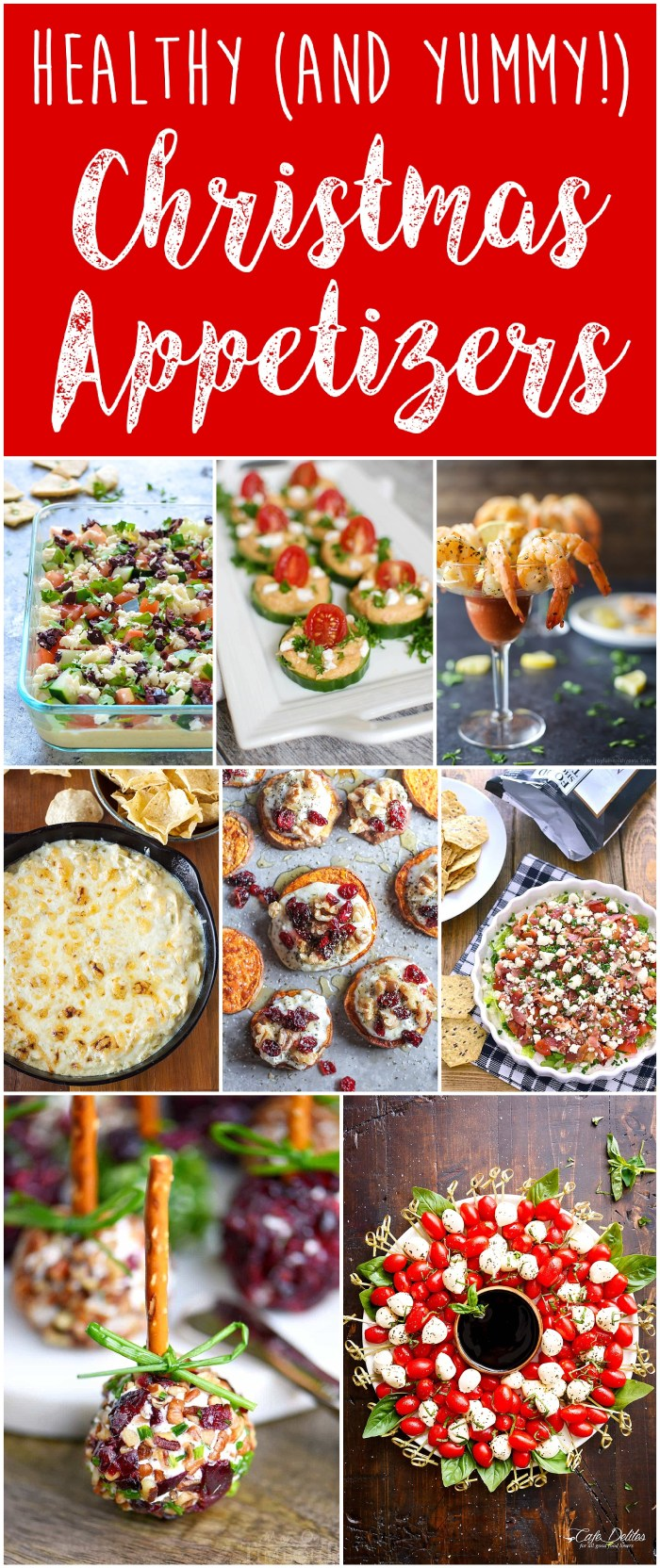 Healthy Christmas Appetizers | Healthy Holiday Food | Healthy New Years Appetizers | Healthy Holiday Appetizers | Healthy Snacks | Gluten Free | Low Carb | Keto Friendly Appetizers | Vegan Christmas | Six Clever Sisters