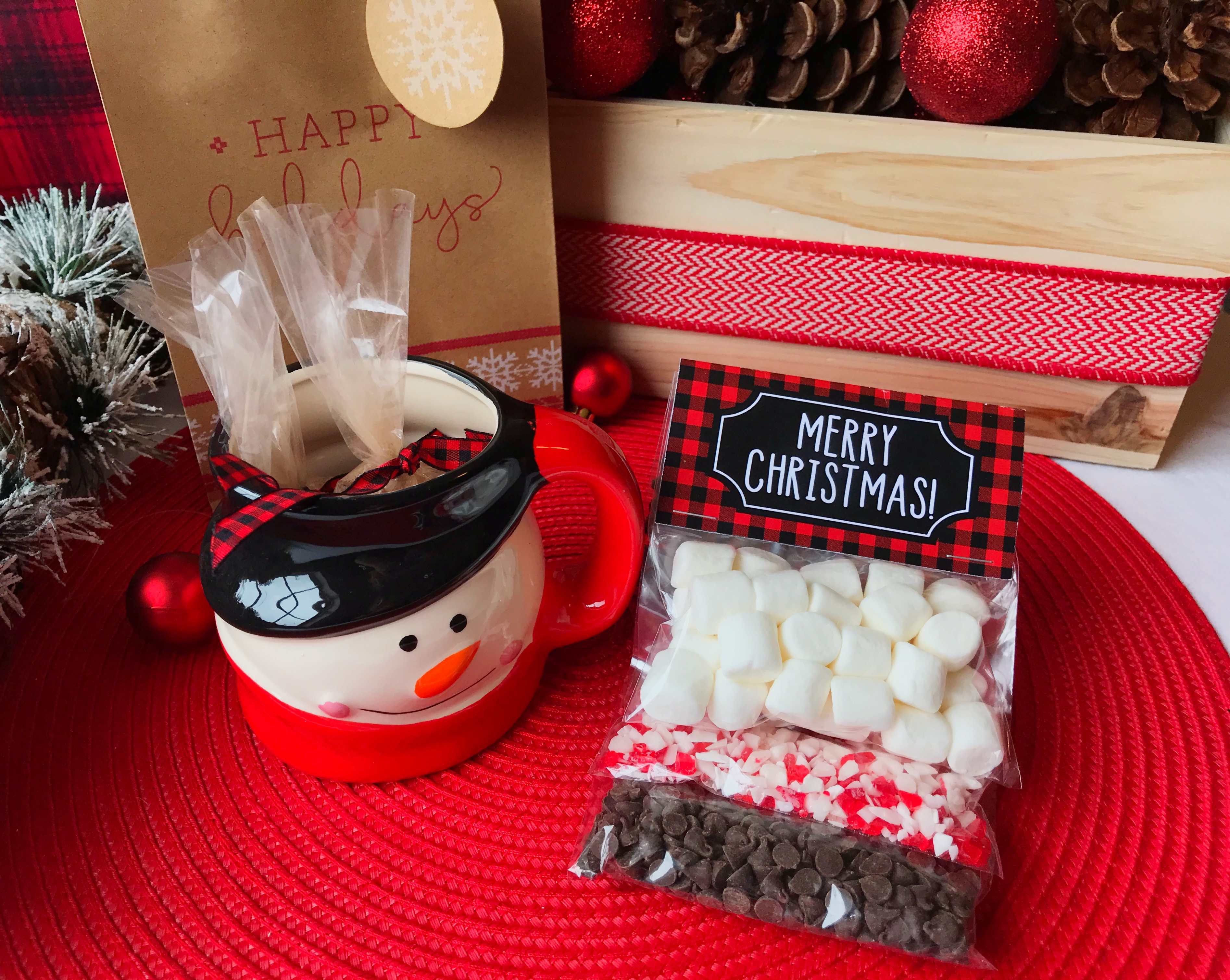 Diy Hot Cocoa Gift Kit Six Clever Sisters