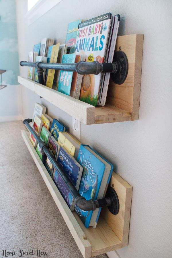 10 Amazing Tutorials For Kidsu0027 Room Bookshelves | Bookcase | Bookshelf  Ideas | Bookshelf DIY