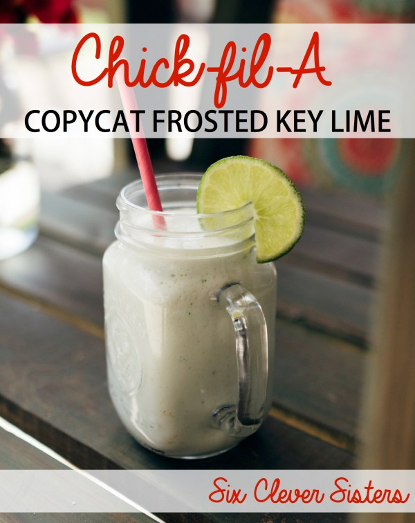 Chick fil A Frosted Key Lime | How to Make Chick-fil-A Frosted Limeade | How to Make Chick-fil-A Frozen Limeade | Recipe for Chick-fil-A Frosted Limeade | Copycat Recipe for Chick fil A Frosted Limeade | Chick fil A Recipe Frosted Key Lime | Chick fil A Frosted Lemonade | Love Chick-fil-A's new frosted key lime drink and want to be able to make it at home? This copycat recipe of Chick-fil-A's newest drink is a great summer drink to enjoy!