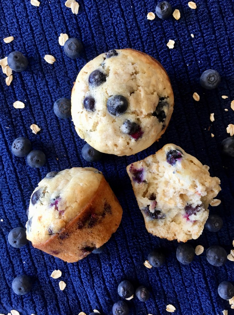 Blueberry Oatmeal Muffins   Healthy   Easy   Lactation   Recipes   Moist   Best   Muffin Recipe   Oatmeal Recipe   Breakfast Muffins   Breakfast Recipes   Freezer Meals   Six Clever Sisters