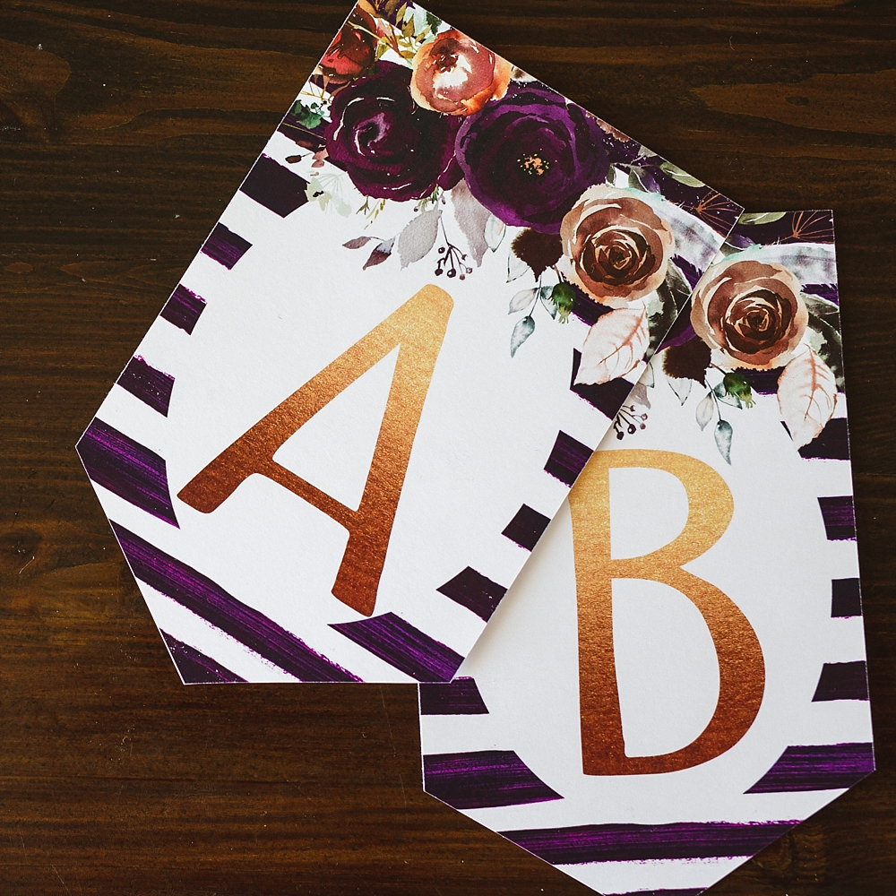 photograph about Free Printable Banner Letters Pdf known as Birthday Banner Printable Crimson FLORAL - 6 Intelligent Sisters