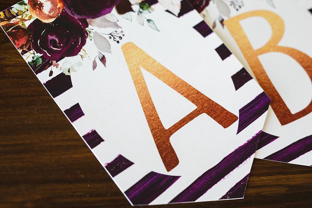 photo regarding Free Printable Banner Letters Pdf named Birthday Banner Printable Pink FLORAL - 6 Intelligent Sisters
