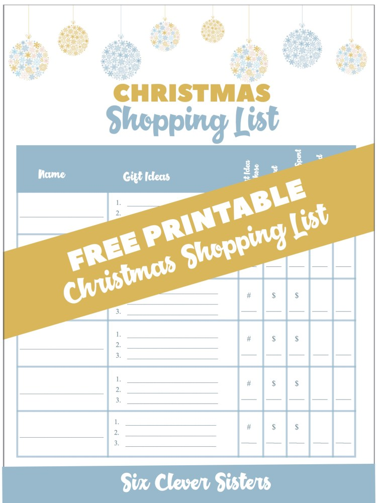 Christmas Shopping List | Christmas Shopping List Printable | Christmas Shopping List Organizer | Christmas Shopping List Template | Free Printable Christmas List Paper | Free Printable Christmas Gift List | Christmas List Printable | Free Printable Christmas Shopping List