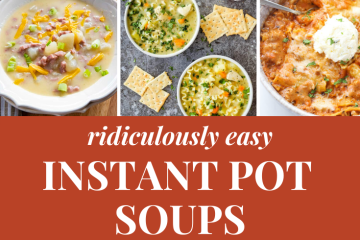 Instant Pot Soup Recipes   Instant Pot and Soup   The Best Instant Pot Soups   Instant Pot Recipes Easy   Instant Pot Soup Healthy   Instant Pot Soup Recipes Easy   Soup Recipes Easy   Soup Recipes for Fall   Soup Recipes   Instant Pot soup recipes make for an easy and quick dinner during the busy holidays! Try these amazing soup recipes that are ridiculously easy! #sixcleversisters #instantpot #instantpotrecipes #soup #souprecipes #souprecipeseasy #dinner #dinnerrecipes #dinnerideas