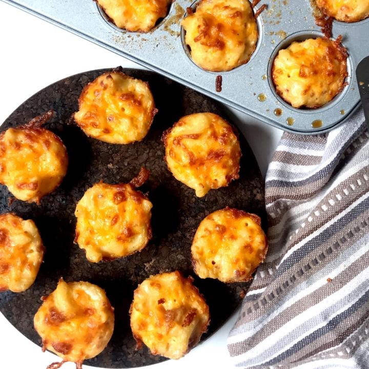 Bacon Mac 'N Cheese Bites