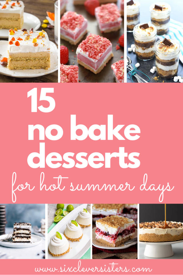No Bake Recipes | No Bake Recipes Easy | No Bake Recipe Dessert | Summer Desserts | Dessert Recipes | Dessert Recipes At Home | No Bake Desserts Quick | Dessert Recipes Simple | No Bake Desserts Easy Quick | Want to make some fun dessert recipes during the summer but don't want to turn the hot oven on? These no-bake desserts are perfect for hot summer days! #desserts #recipe #recipeoftheday #dessertfoodideas #summer #recipes #easyrecipe #nobake