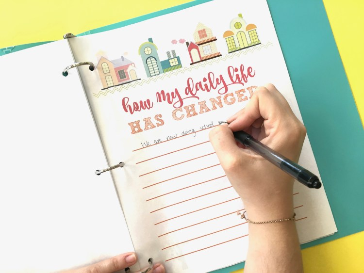 Stay at Home Activities | Printable Journal | Free Printable Journal Bundle | Indoor Activities | Kids Activities | Are you stuck at home looking for some fun activities for you and your family to do? We have this free printable journal bundle that is perfect for you to keep track of everything you and your family do together while you're at home! Print them for free at SixCleverSisters.com
