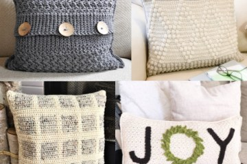 Farmhouse Style | Farmhouse Pillows | Farmhouse Decor | Farmhouse Living Room | Farmhouse Pillow Covers | Farmhouse Pillows Couch | Crochet Patterns | Crochet Pillow Patterns | Crochet Project | Free Crochet Patterns | Joanna Gaines Style | Joanna Gaines Living Room | Joanna Gaines Pillows | Six Clever Sisters