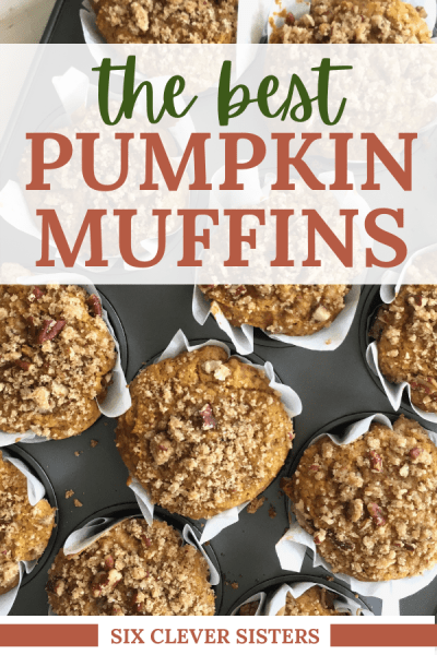 Pumpkin Muffins | Pumpkin Muffin Recipes | Pumpkin Muffin Recipe | Pumpkin Muffin Recipe Easy | Muffin Recipe | Muffin Recipe Ideas | Muffin Recipe Easy | Pumpkin Recipes | Pumpkin Recipes Easy | Fall Recipes | Fall Recipes Baking | I love everything pumpkin and this easy muffin recipe gives me all the flavors of fall. It's an easy recipe and the muffins are moist, flavorful, and delicious! Plus, they have an easy streusel topping to add even extra to the goodness. Try this fall breakfast treat and you won't be disappointed! #fall #pumpkin #pumpkinspice #recipes #recipeoftheday #muffin #recipe #autumn #baking