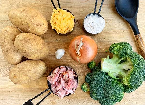Ham and Broccoli Soup   Potato Soup   Comfort Food   Easy Soup Recipe   Hearty Soup   Winter Dinner   Family Dinner   Easy Meal   Dutch Oven   One Pot Meal   Ham   Potato   Stew   Chowder   Crock Pot   Instant Pot   Broccoli Soup