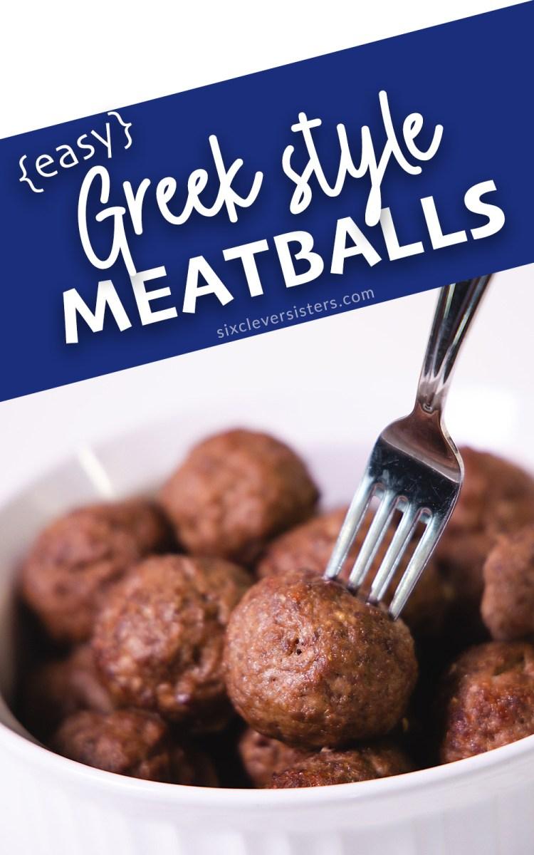 Greek Style Meatballs | Greek Meatballs Recipe with Tzatziki Sauce | Greek Food Recipes Authentic | Authentic Greek Food | Authentic Greek Recipes