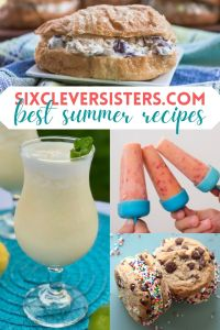 Summer Recipes   SixCleverSisters   Healthy Popsicles   Ice Cream Sandwiches   Summer Desserts   Easy Recipes   Summer Party Foods   Find all these yummy recipes and more for your summer party at SixCleverSisters.com