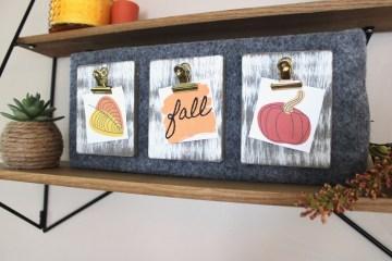 Fall Decor DIY | Fall Signs Wooden | Fall Sign DIY | Fall Sign Idea | Fall Signs Wooden DIY | How to Make a Wooden Sign | Fall Signs Wooden Porch | Fall DIY Ideas | Pumpkin DIY | Pumpkin Decor | Six Clever Sisters