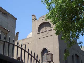 Recent photo of Rami Mangoubi's former synagogue in Egypt