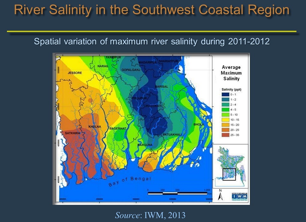 sc 1 st  SixDegrees & Climate change drives up river salinity in Bangladesh